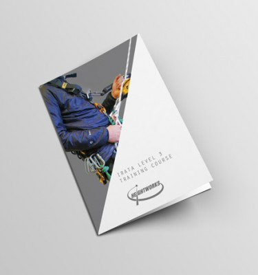IRATA level 3 training brochure